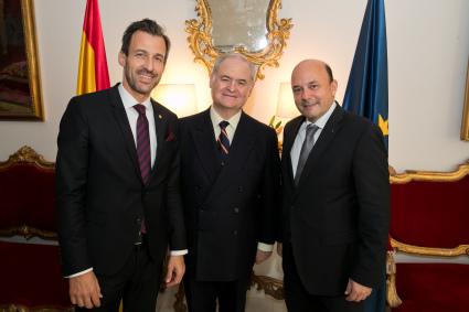 Recepción de la Embajada de España en Viena